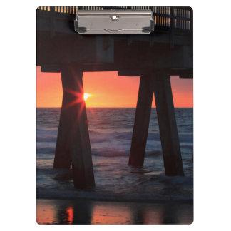 USA, Georgia, Tybee Island, Tybee Pier Clipboards