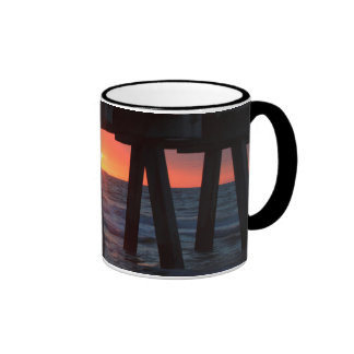 USA, Georgia, Tybee Island, Tybee Pier Mugs