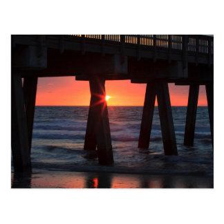 USA, Georgia, Tybee Island, Tybee Pier Postcard