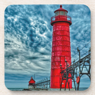 USA, Grand Haven, Michigan, lighthouse Coaster