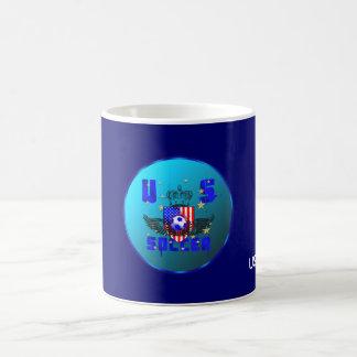 USA grunge soccer gifts and goodies Basic White Mug