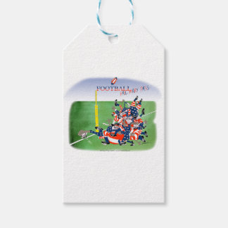 USA hail mary pass, tony fernandes Gift Tags
