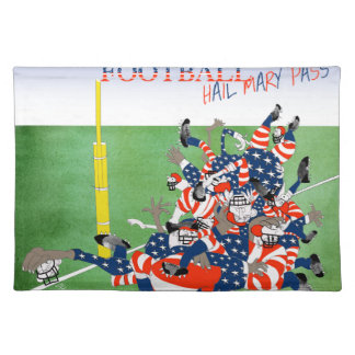USA hail mary pass, tony fernandes Placemat