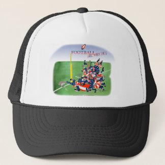 USA hail mary pass, tony fernandes Trucker Hat