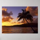 USA, Hawaii, Kauai, Colourful sunrise in a 2 Poster