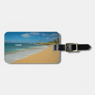 USA, Hawaii, Molokai Island, Three Mile Beach Luggage Tag