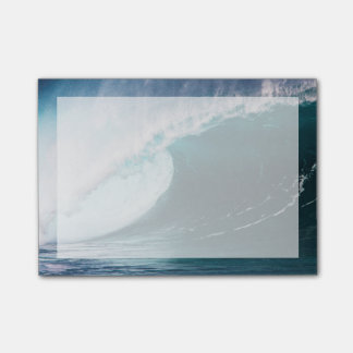 USA, Hawaii, Oahu, Large waves Post-it Notes