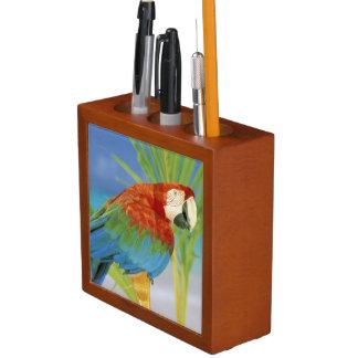 USA, Hawaii. Parrot Desk Organisers
