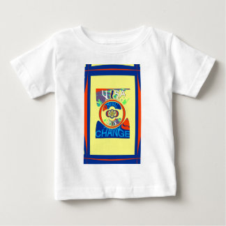 USA Hillary Beautiful Change Pattern Art design Baby T-Shirt