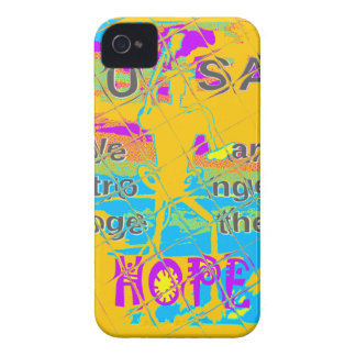 USA Hillary Hope Stronger Together Case-Mate iPhone 4 Case