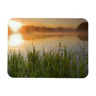USA, Idaho, Winchester Lake State Park, Lapwai Rectangular Photo Magnet