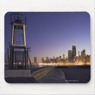 USA, Illinois, Chicago, City skyline from Lake 2 Mouse Pad