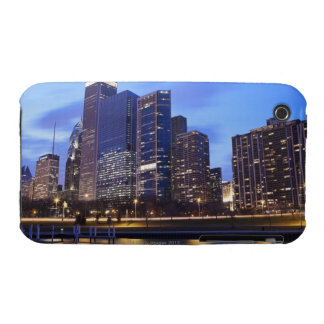 USA, Illinois, Chicago, City skyline of Randolph iPhone 3 Case-Mate Cases