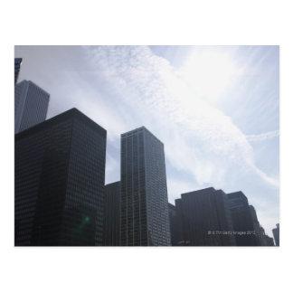 USA, Illinois, Chicago, skyline Postcard