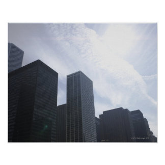USA, Illinois, Chicago, skyline Poster