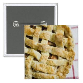 USA, Illinois, Washington, Apple pie 15 Cm Square Badge