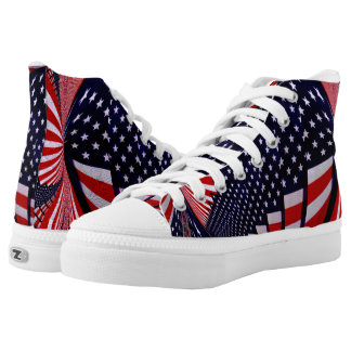 USA,I'm Proud_ High Tops