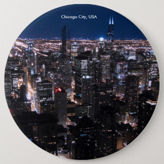 USA Image for Colossal Round Badge, 6 Cm Round Badge