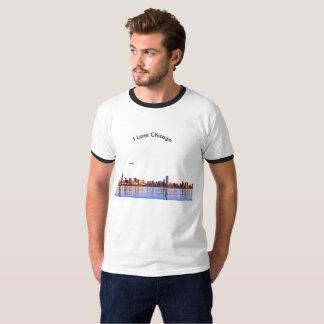 USA image for Men's-Ringer-T-Shirt-White-Black T-Shirt