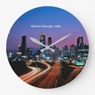 USA Image for Round (Large) Wall Clock
