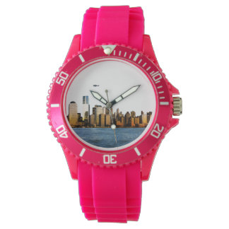 USA image for Sporty-Pink-Silicon Watch
