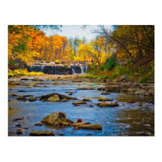 USA, Indiana. Cataract Falls State Recreation Postcard