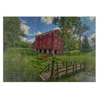 USA, Indiana, Cutler. Adams Mill Cutting Boards