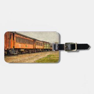 USA, Indiana. The North Mudson Railroad Museum Bag Tags