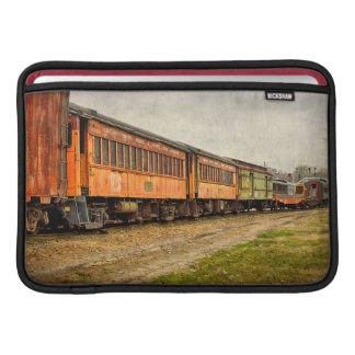 USA, Indiana. The North Mudson Railroad Museum Sleeve For MacBook Air