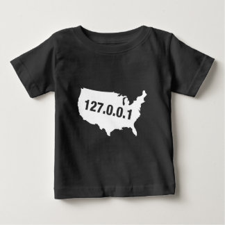 USA Is Home Programmer Baby T-Shirt