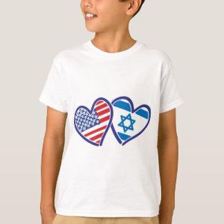 USA---Israel-Love-final T-Shirt