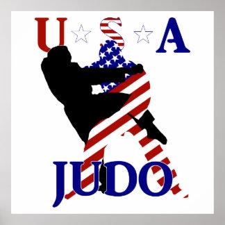 USA Judo Poster