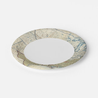 USA June 1861 7 Inch Paper Plate