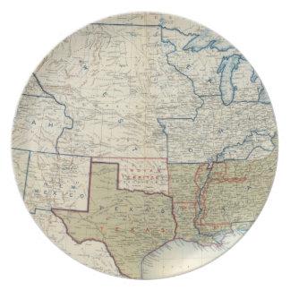 USA June 1861 Dinner Plates