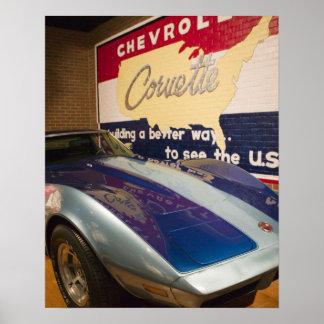 USA, Kentucky, Bowling Green: National Corvette 2 Poster