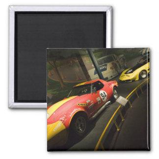 USA, Kentucky, Bowling Green: National Corvette 4 Fridge Magnet