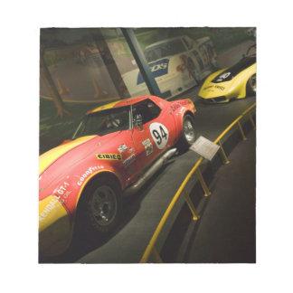 USA, Kentucky, Bowling Green: National Corvette 4 Notepad