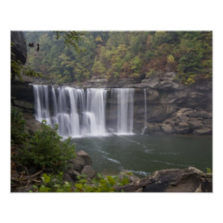 USA - Kentucky. Cumberland Falls on the Poster