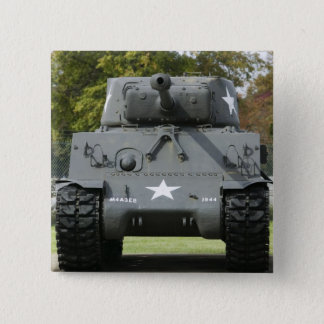 USA, Kentucky, Fort Knox: Patton Museum of 15 Cm Square Badge