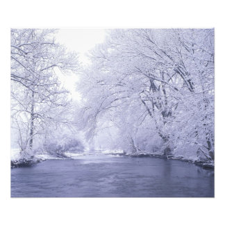 USA, Kentucky, Louisville. Snow covered Photo