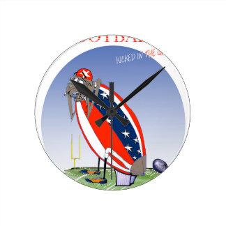 USA kicked in the grass, tony fernandes Clocks