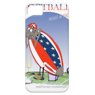 USA kicked in the grass, tony fernandes iPhone 5 Case