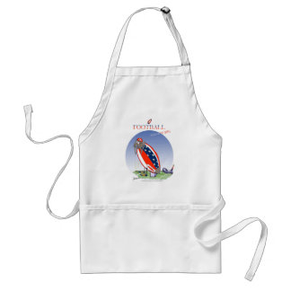USA kicked in the grass, tony fernandes Standard Apron