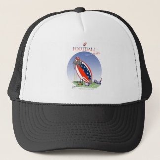 USA kicked in the grass, tony fernandes Trucker Hat