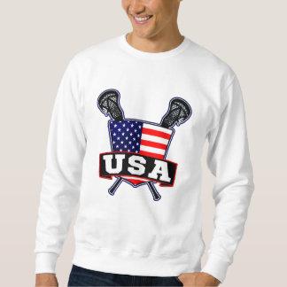 USA Lacrosse Logo Sweatshirt