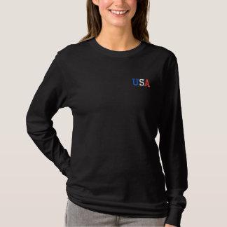 USA LADIES LONG-SLEEVE SHIRT