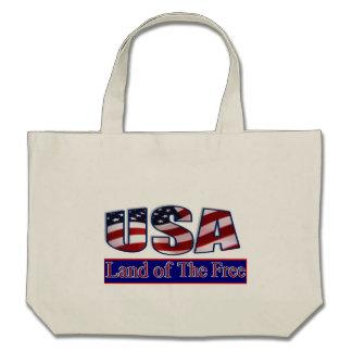 USA - LAND OF THE FREE BAG