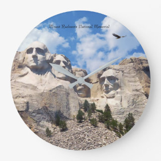 USA Landmark image for Round-Large-Wall-Clock Clock