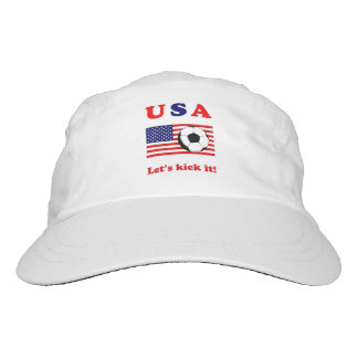 USA...Let's kick it! Hat