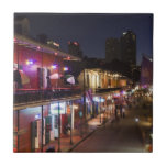 USA, Louisiana, New Orleans. French Quarter Small Square Tile